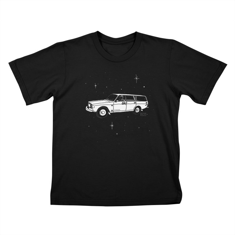 International Space Station Wagon Kids T-shirt by PLOY by NomadSlim