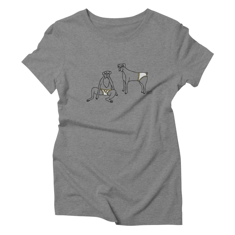Boxers and briefs Women's Triblend T-Shirt by PLOY by NomadSlim