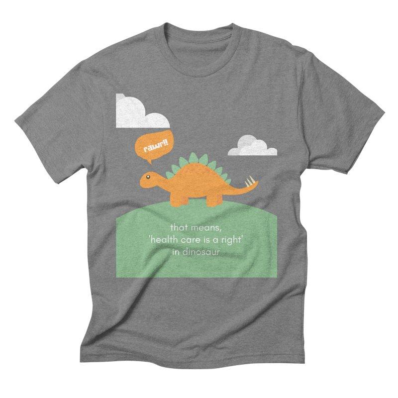 RAWR Men's T-Shirt by PNHPMinnesota's Artist Shop