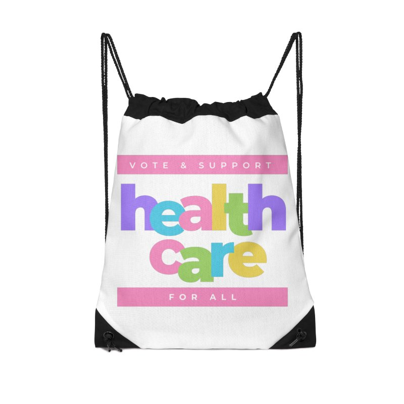 Kids for Health Care Equity (PINK) Accessories Bag by PNHPMinnesota's Artist Shop