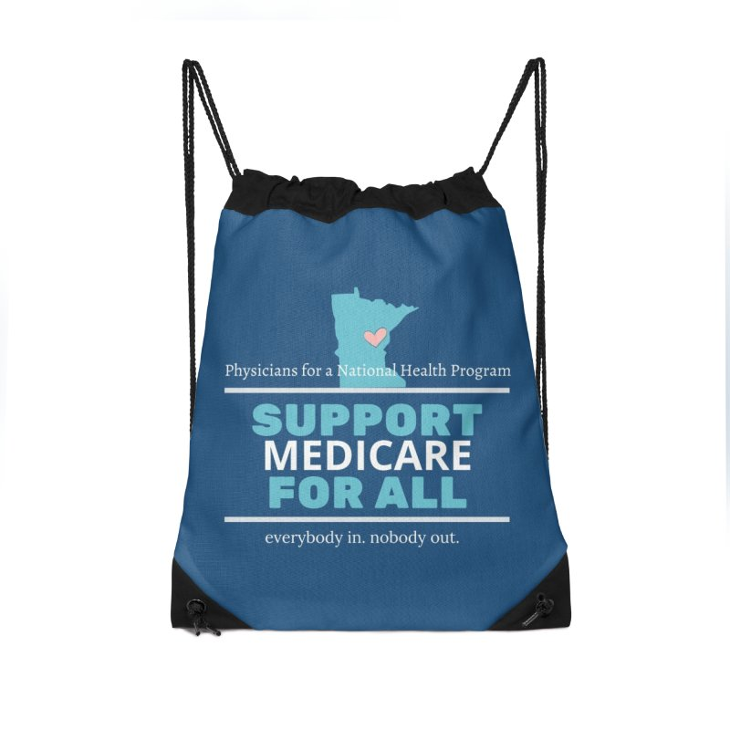 PNHP Minnesota Supports Medicare For All Accessories Bag by PNHPMinnesota's Artist Shop