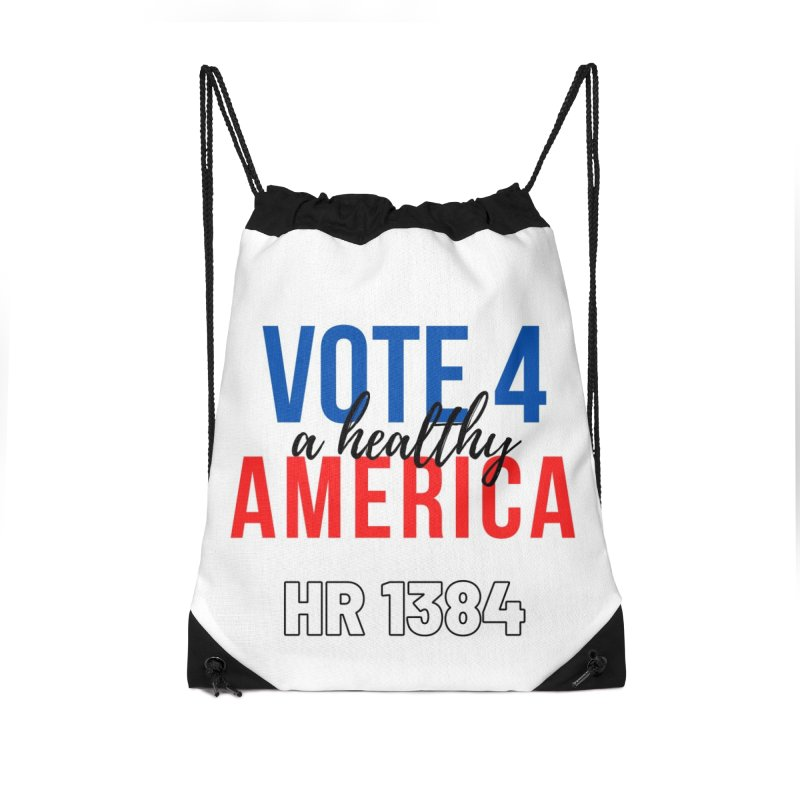 Vote for A Healthy America Accessories Bag by PNHPMinnesota's Artist Shop
