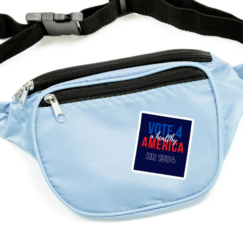 Vote for A Healthy America Accessories Sticker by PNHPMinnesota's Artist Shop