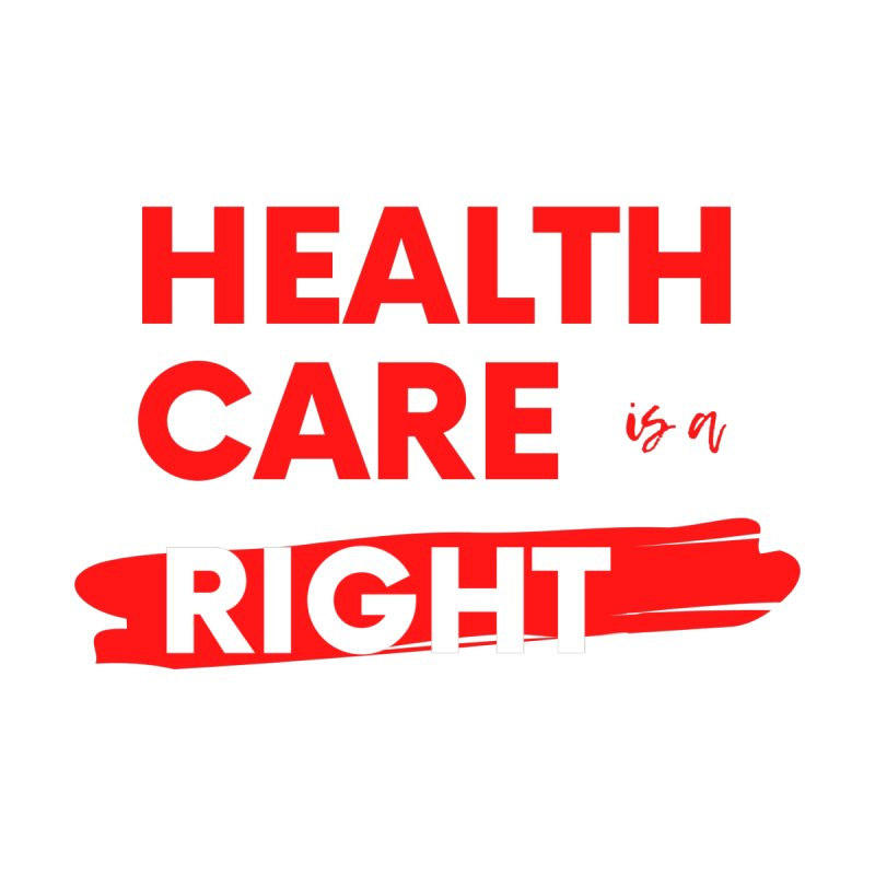 Health Care is a Right Men's V-Neck by PNHPMinnesota's Artist Shop