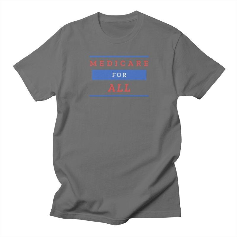 Medicare for All Basic Design Men's T-Shirt by PNHPMinnesota's Artist Shop