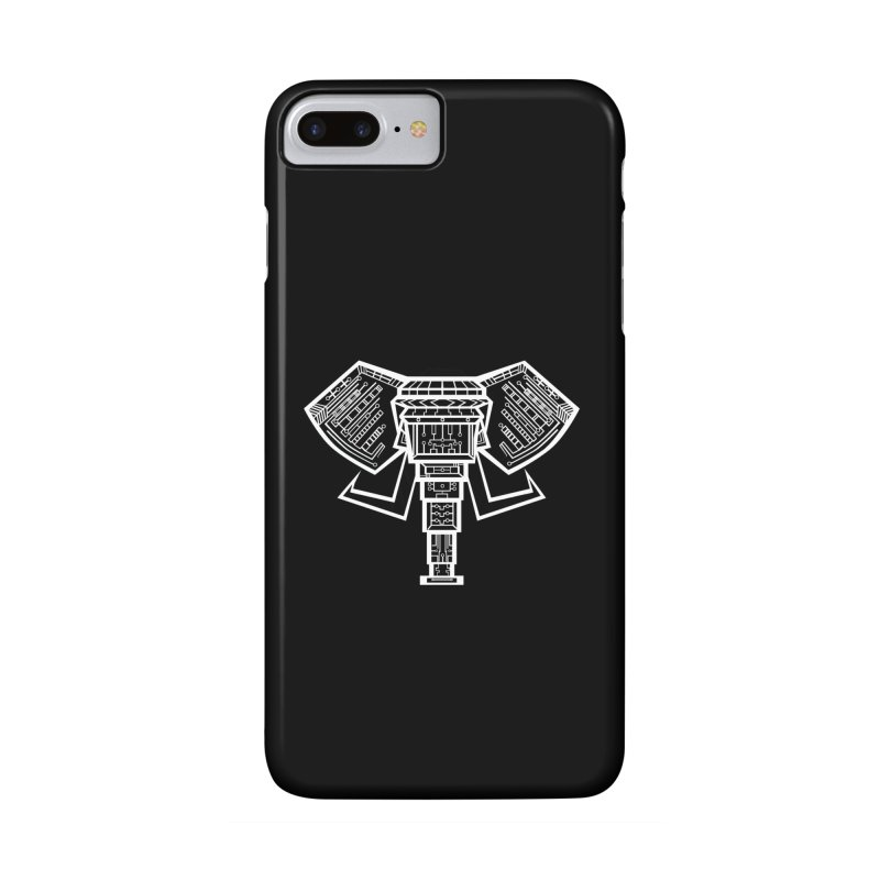 Techlephant Accessories Phone Case by POP COLOR BOT