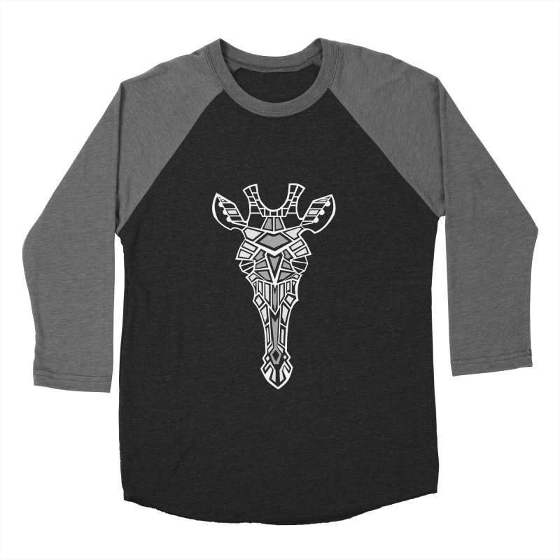 Giraffe Shade Men's Baseball Triblend T-Shirt by POP COLOR BOT
