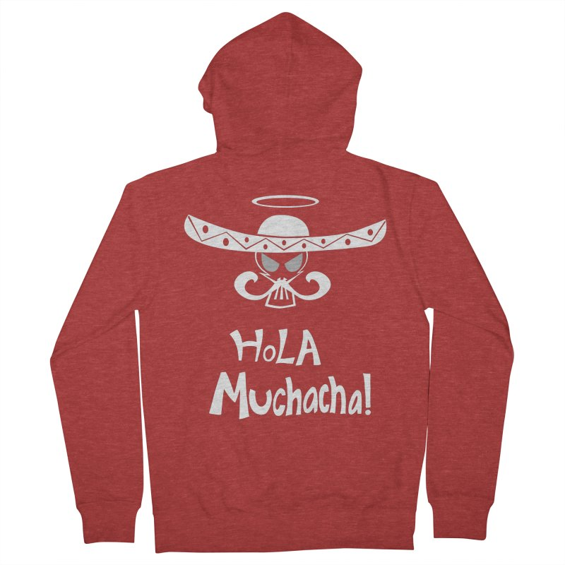 Hola CHA CHA! Women's Zip-Up Hoody by POP COLOR BOT