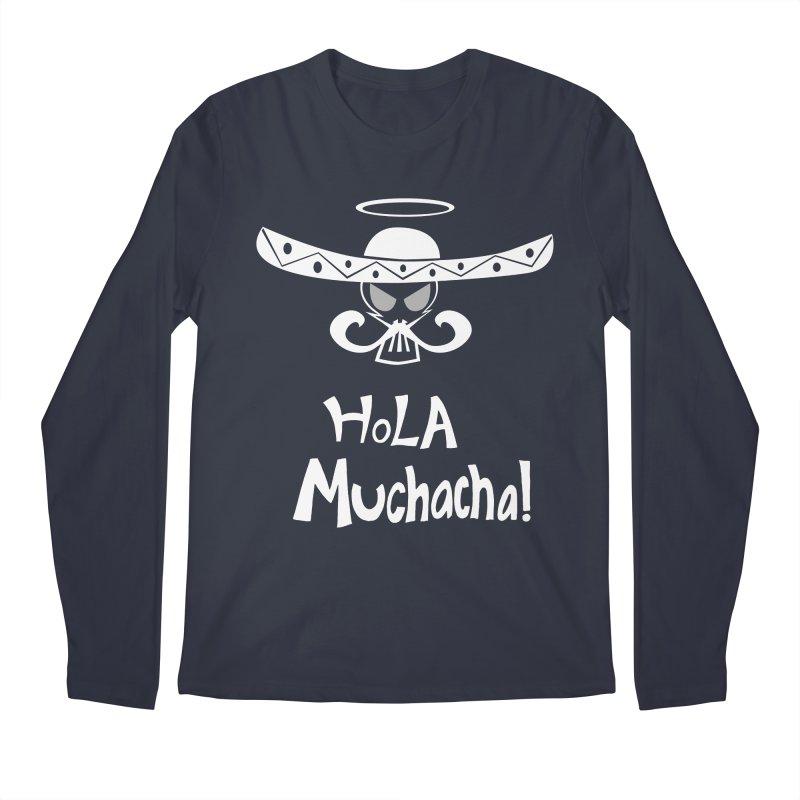 Hola CHA CHA! Men's Longsleeve T-Shirt by POP COLOR BOT
