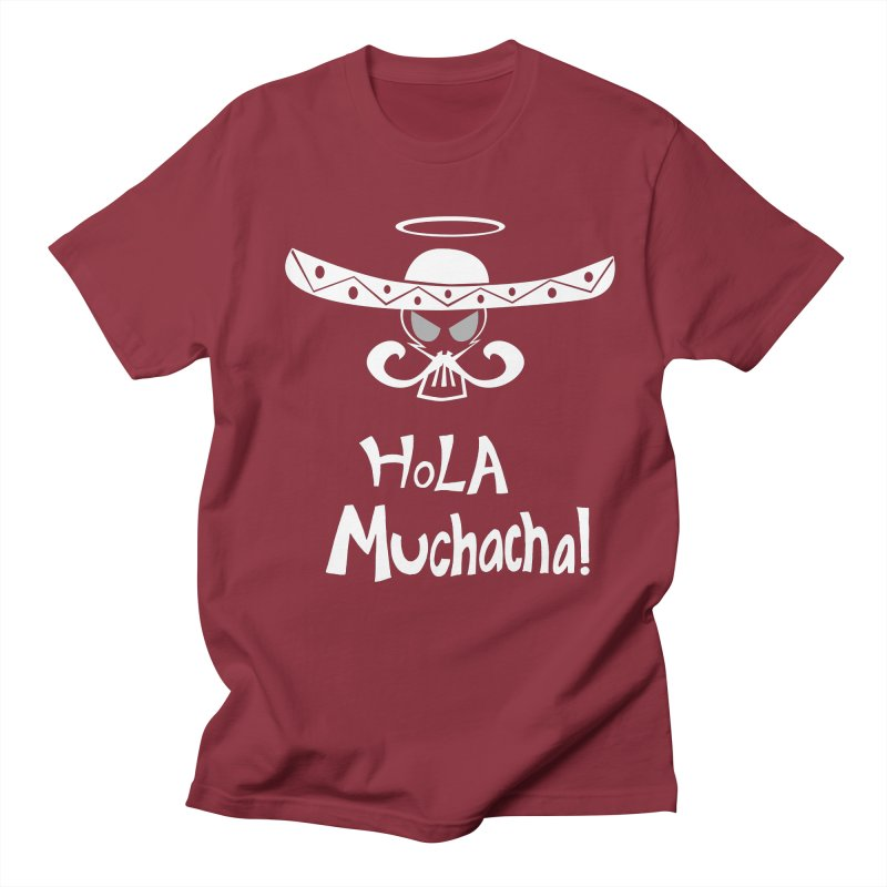 Hola CHA CHA! Men's Regular T-Shirt by POP COLOR BOT