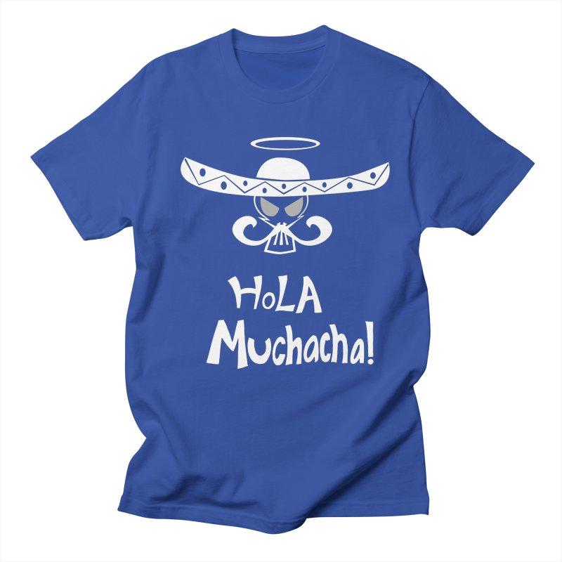 Hola CHA CHA! Men's T-Shirt by POP COLOR BOT