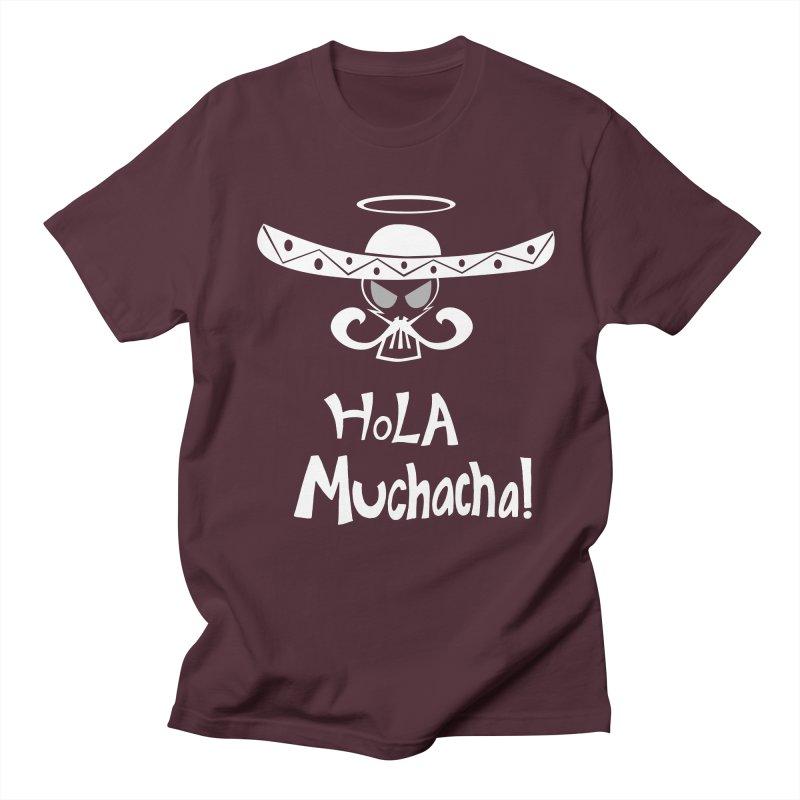 Hola CHA CHA! Men's Regular T-Shirt by POP COLOR BOT