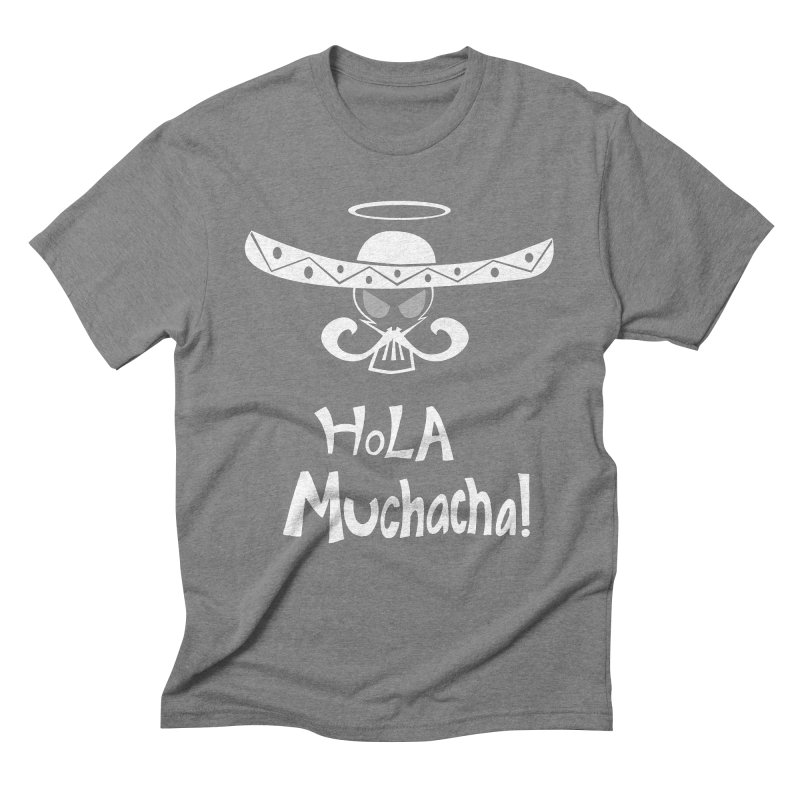 Hola CHA CHA! Men's Triblend T-Shirt by POP COLOR BOT