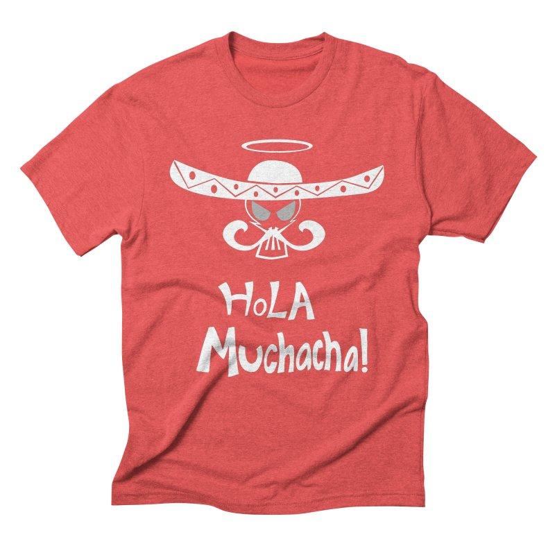 Hola CHA CHA! Men's Triblend T-Shirt by POP COLOR BOT