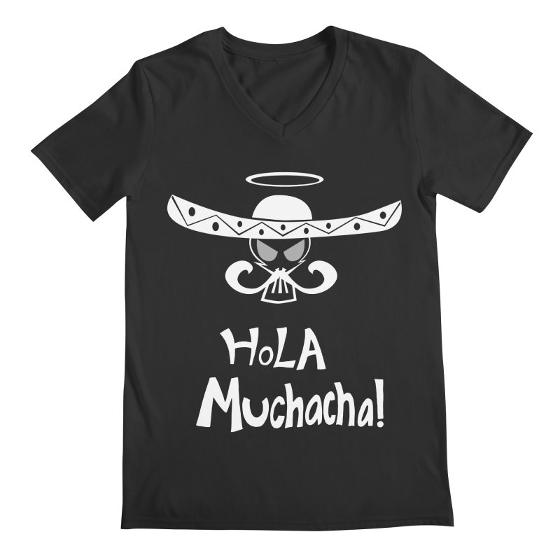 Hola CHA CHA! Men's V-Neck by POP COLOR BOT