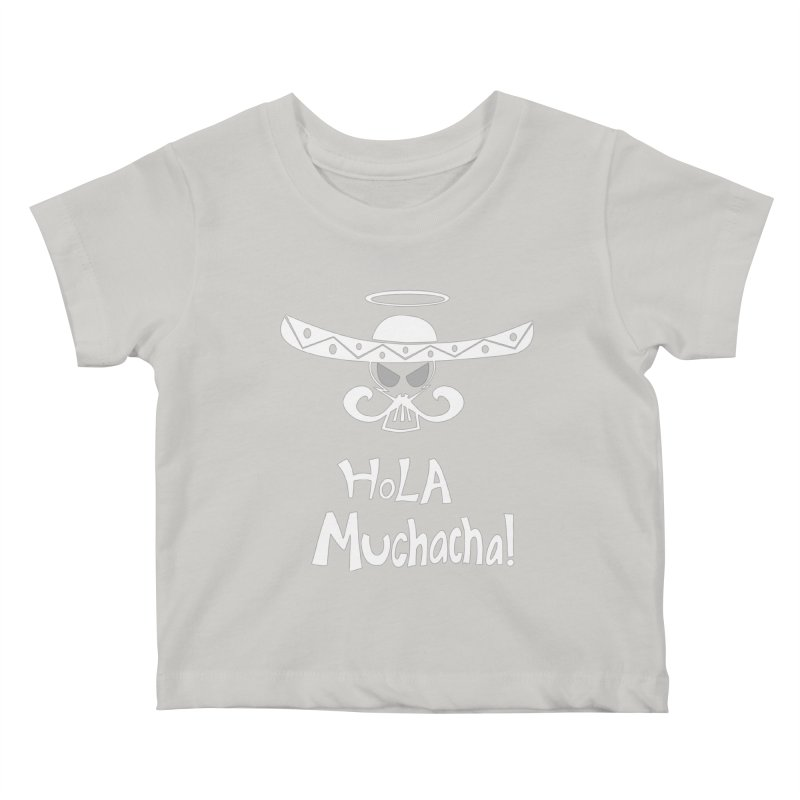 Hola CHA CHA! Kids Baby T-Shirt by POP COLOR BOT