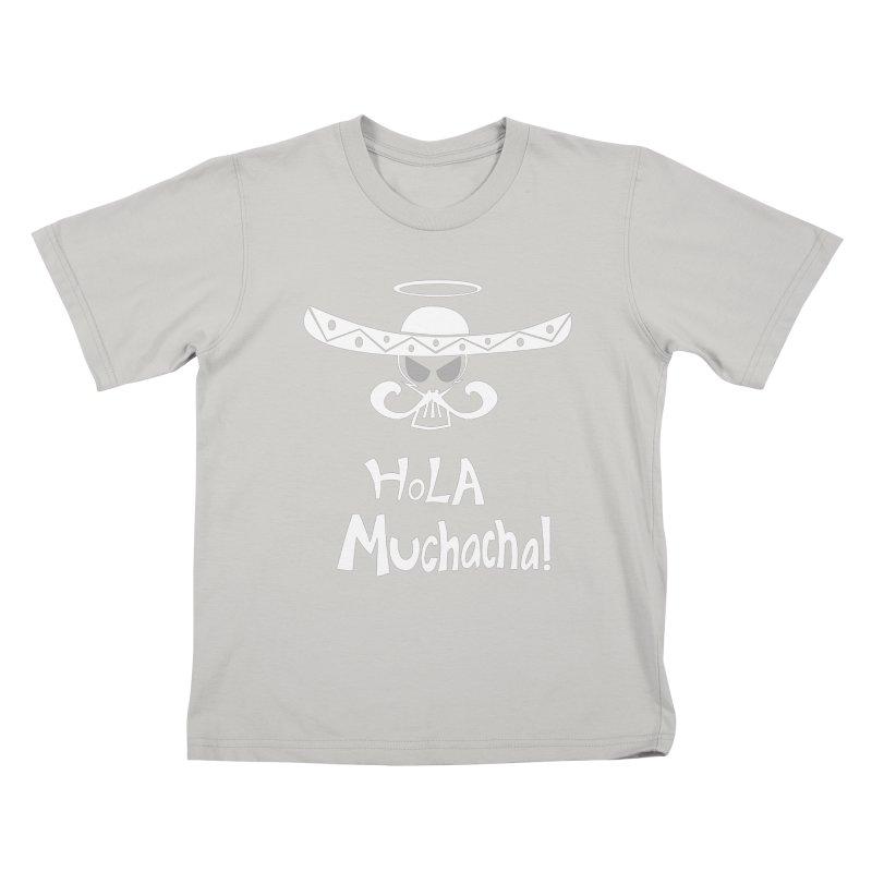 Hola CHA CHA! Kids T-Shirt by POP COLOR BOT