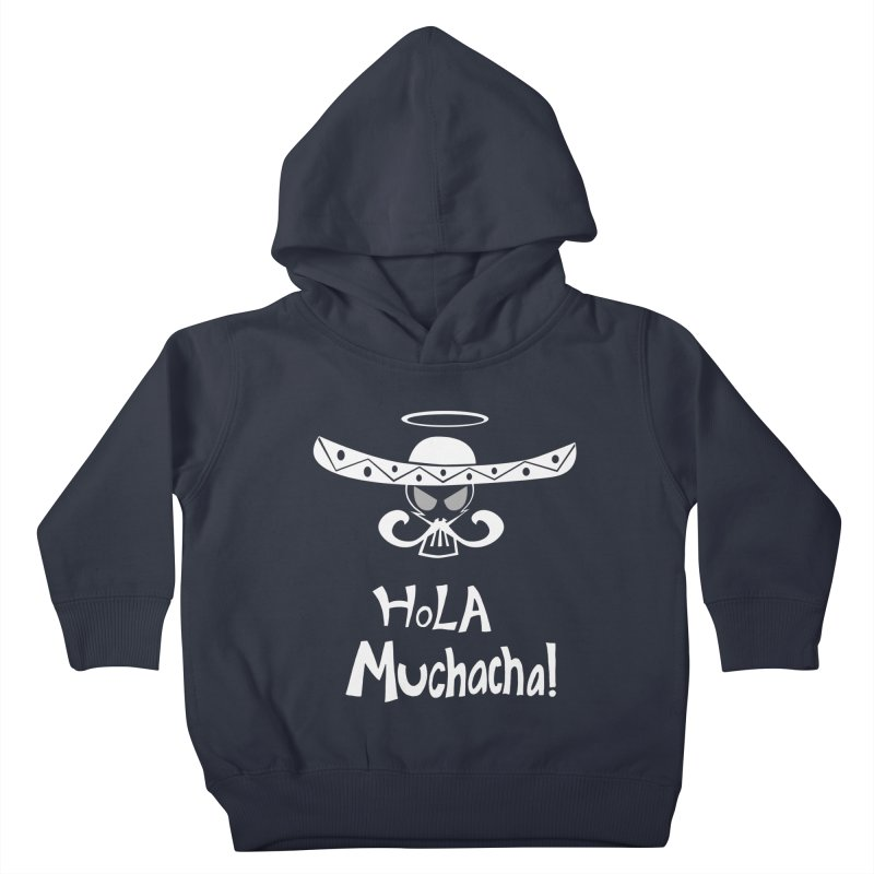 Hola CHA CHA! Kids Toddler Pullover Hoody by POP COLOR BOT