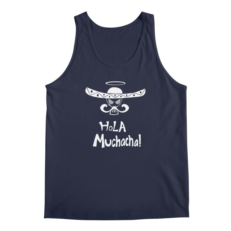 Hola CHA CHA! Men's Regular Tank by POP COLOR BOT