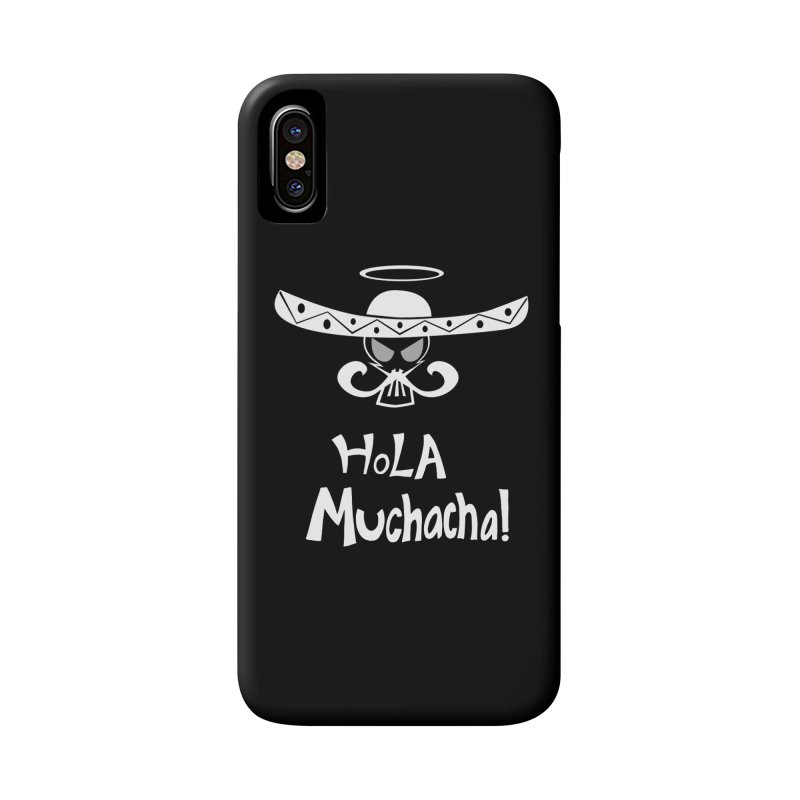 Hola CHA CHA! Accessories Phone Case by POP COLOR BOT