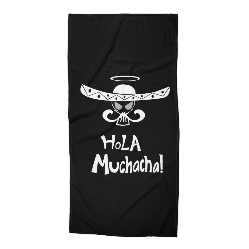 Hola CHA CHA! Accessories Beach Towel by POP COLOR BOT