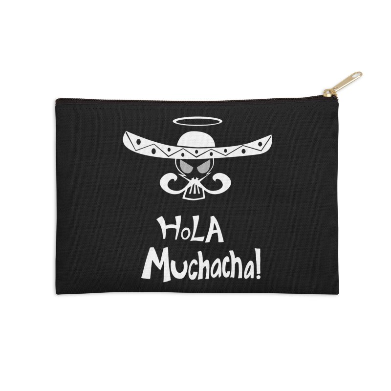 Hola CHA CHA! Accessories Zip Pouch by POP COLOR BOT