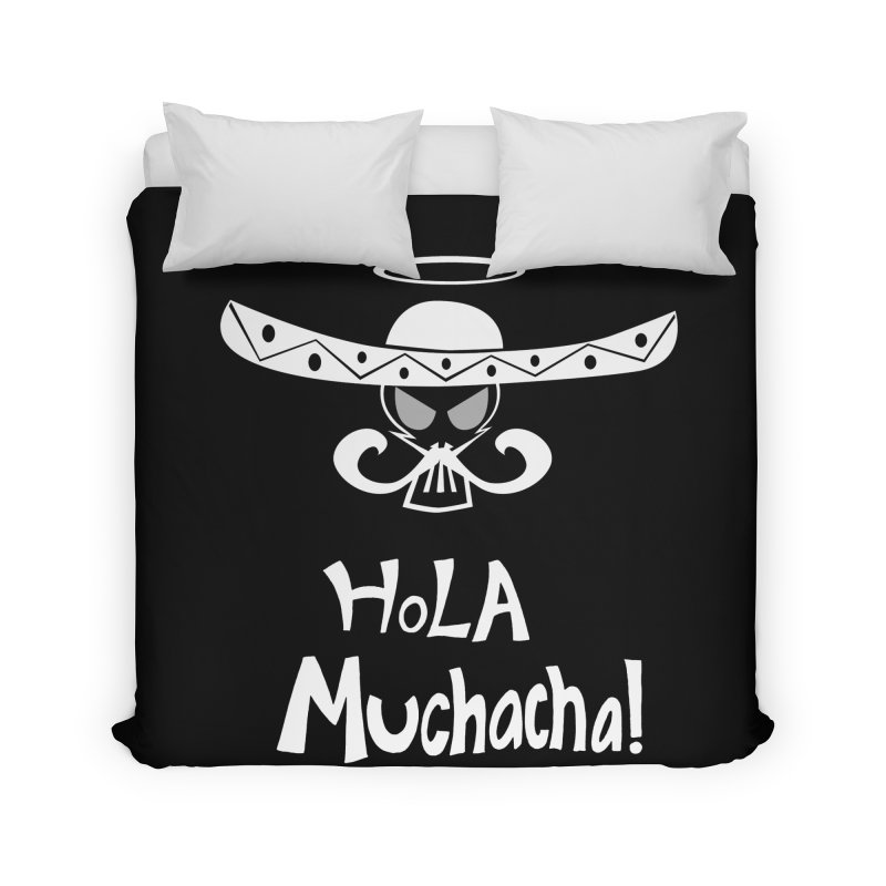 Hola CHA CHA! Home Duvet by POP COLOR BOT
