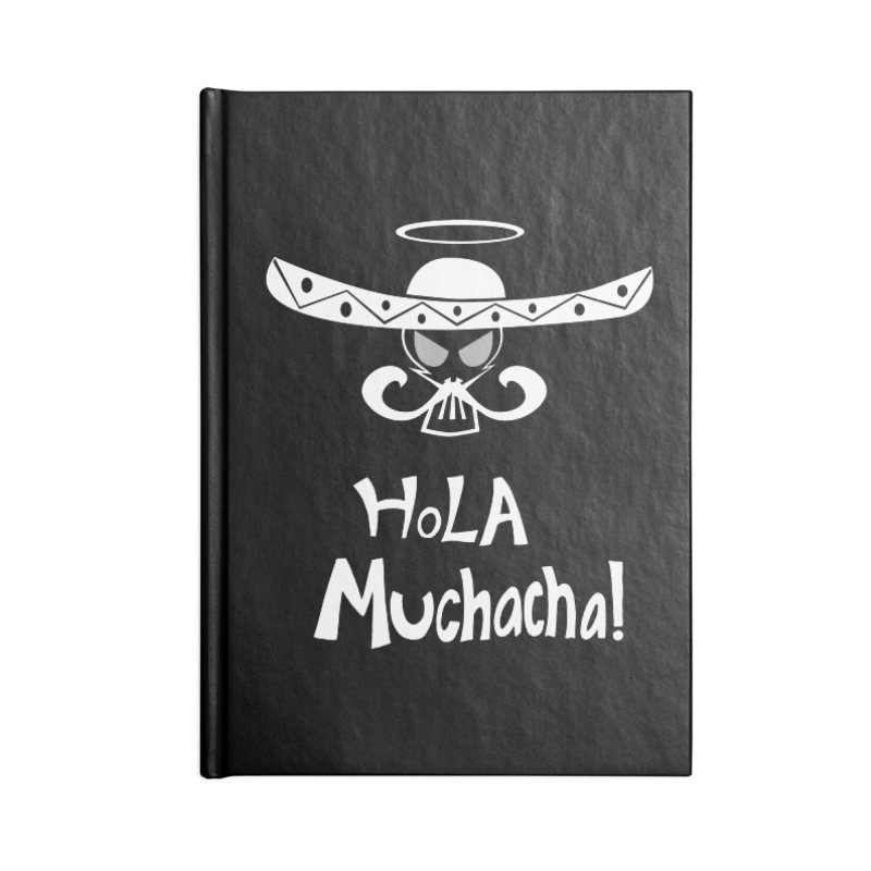 Hola CHA CHA! Accessories Notebook by POP COLOR BOT