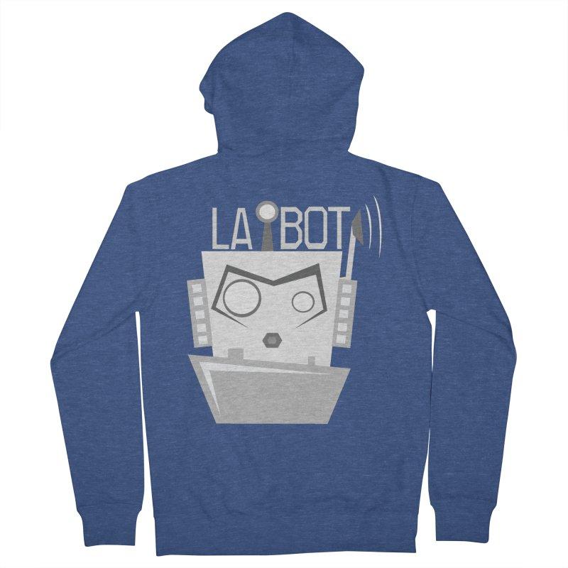 LA BOT 2.0 Men's Zip-Up Hoody by POP COLOR BOT