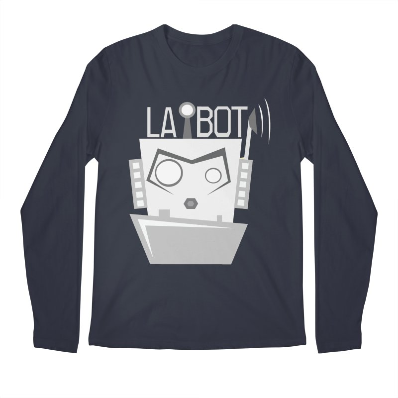 LA BOT 2.0 Men's Longsleeve T-Shirt by POP COLOR BOT