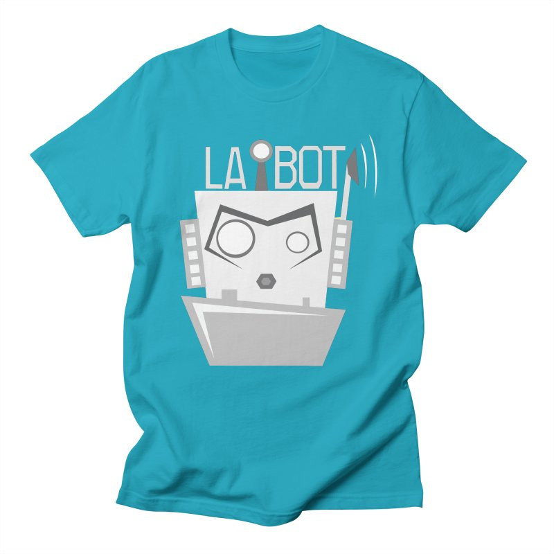 LA BOT 2.0 Men's T-shirt by POP COLOR BOT
