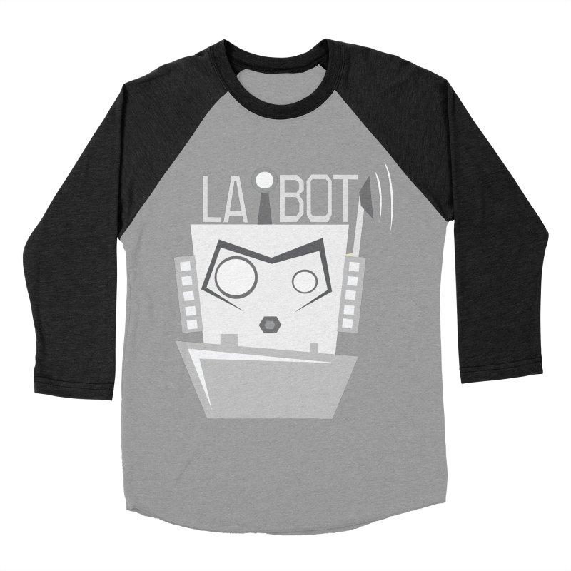 LA BOT 2.0 Women's Baseball Triblend T-Shirt by POP COLOR BOT