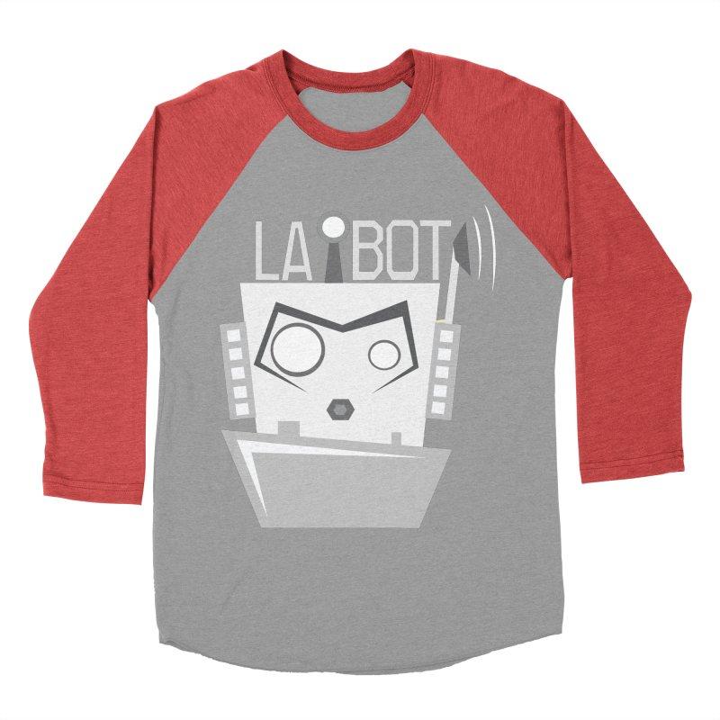 LA BOT 2.0 Men's Baseball Triblend T-Shirt by POP COLOR BOT