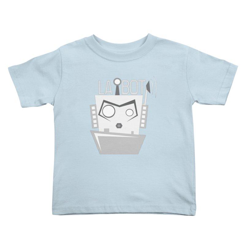 LA BOT 2.0 Kids Toddler T-Shirt by POP COLOR BOT