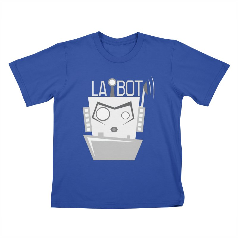 LA BOT 2.0 Kids T-shirt by POP COLOR BOT