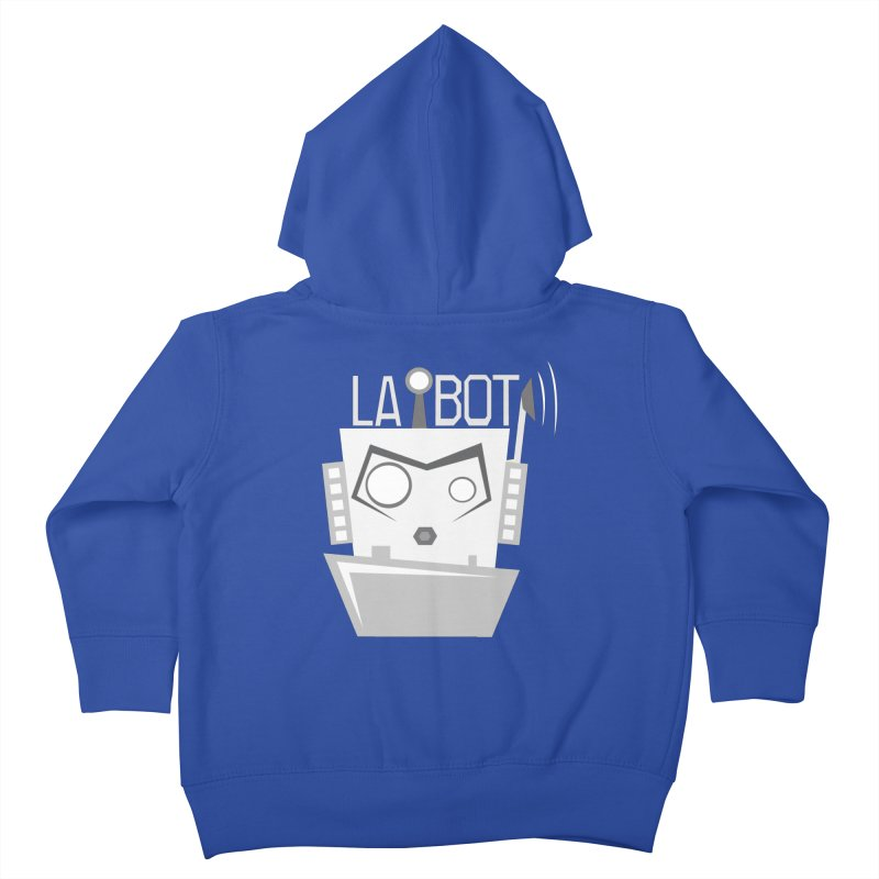 LA BOT 2.0 Kids Toddler Zip-Up Hoody by POP COLOR BOT