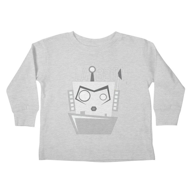 LA BOT 2.0 Kids Toddler Longsleeve T-Shirt by POP COLOR BOT