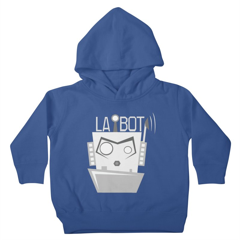 LA BOT 2.0 Kids Toddler Pullover Hoody by POP COLOR BOT
