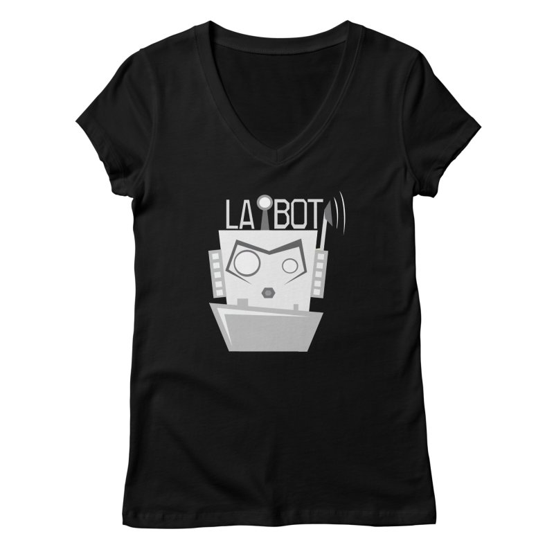 LA BOT 2.0 Women's Regular V-Neck by POP COLOR BOT