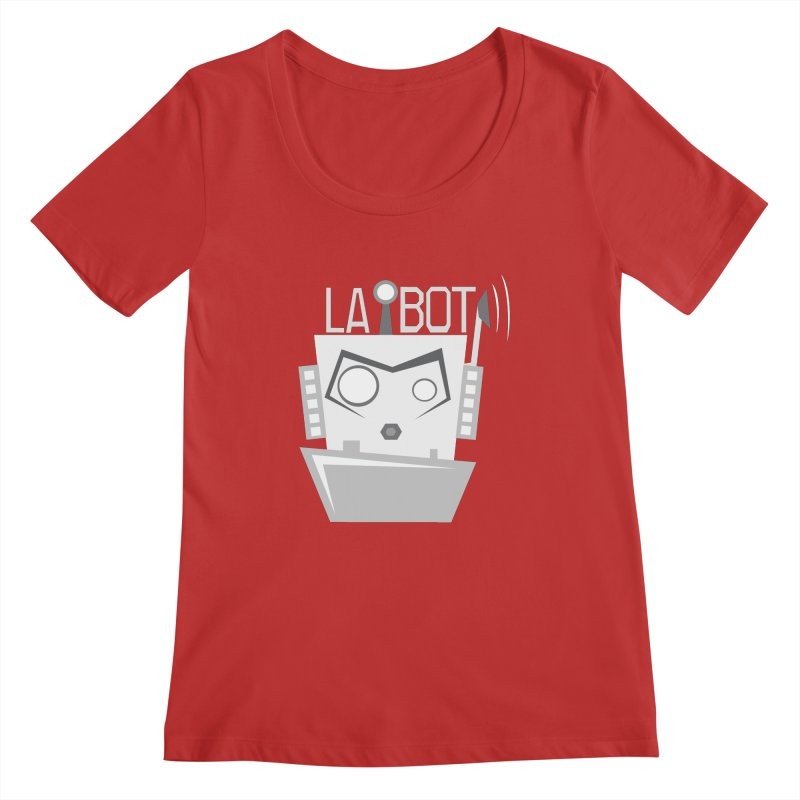 LA BOT 2.0 Women's Scoopneck by POP COLOR BOT