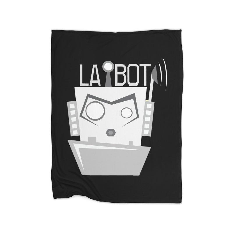 LA BOT 2.0 Home Blanket by POP COLOR BOT
