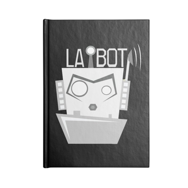 LA BOT 2.0 Accessories Notebook by POP COLOR BOT