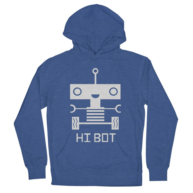 Hi baby BOT Men's Pullover Hoody by POP COLOR BOT