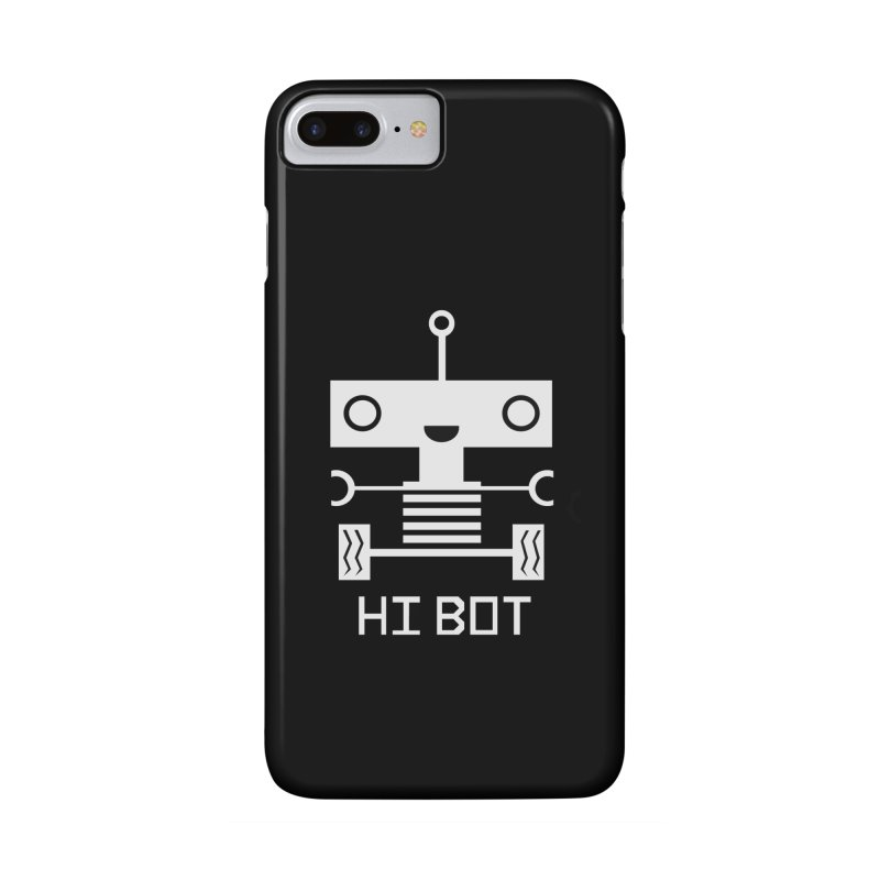 Hi baby BOT Accessories Phone Case by POP COLOR BOT