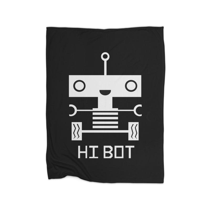 Hi baby BOT Home Blanket by POP COLOR BOT