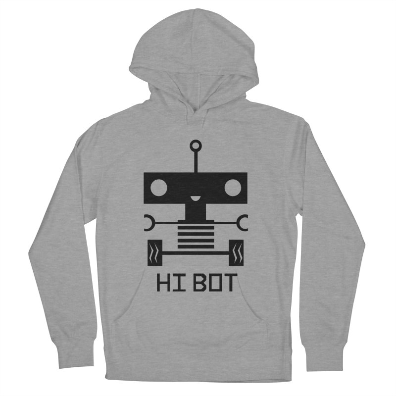Dark Baby Bot Women's Pullover Hoody by POP COLOR BOT