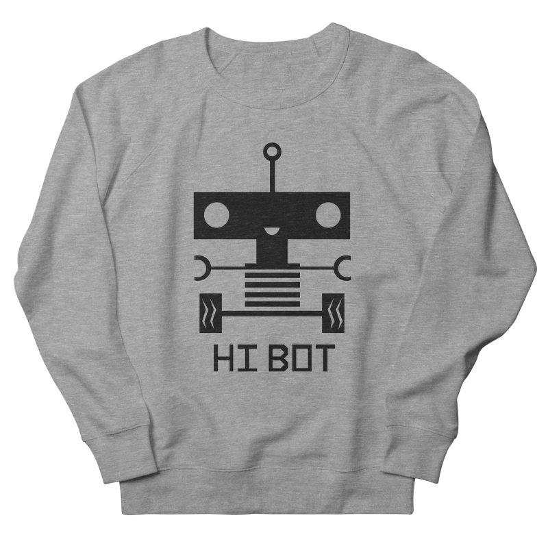 Dark Baby Bot Women's Sweatshirt by POP COLOR BOT