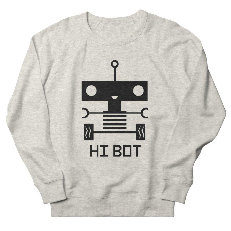 Dark Baby Bot Men's Sweatshirt by POP COLOR BOT