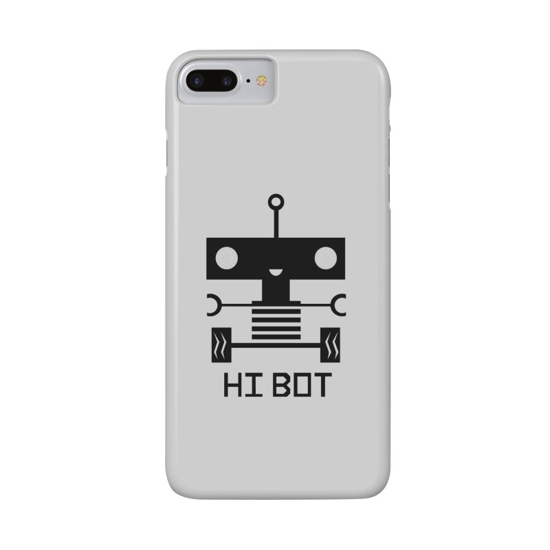Dark Baby Bot Accessories Phone Case by POP COLOR BOT