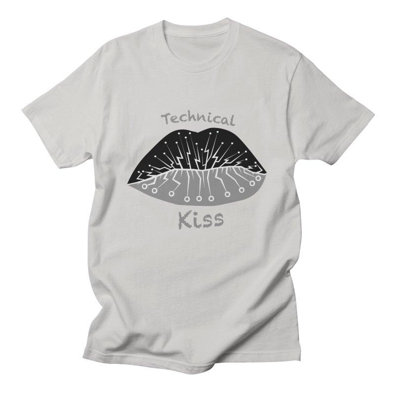 Technical Kiss Women's Unisex T-Shirt by POP COLOR BOT